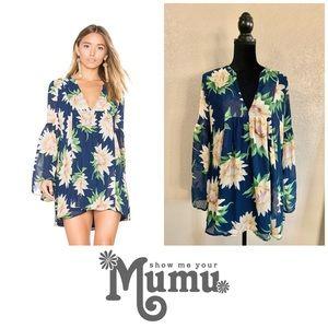 Show me your Mumu Mia Sunflower tunic top/ dress